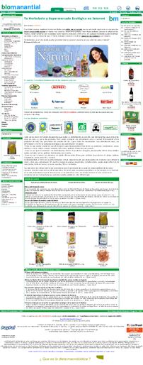 Vista previa de http://biomanantial.com