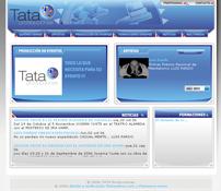 Vista previa de http://www.tataproducciones.com/